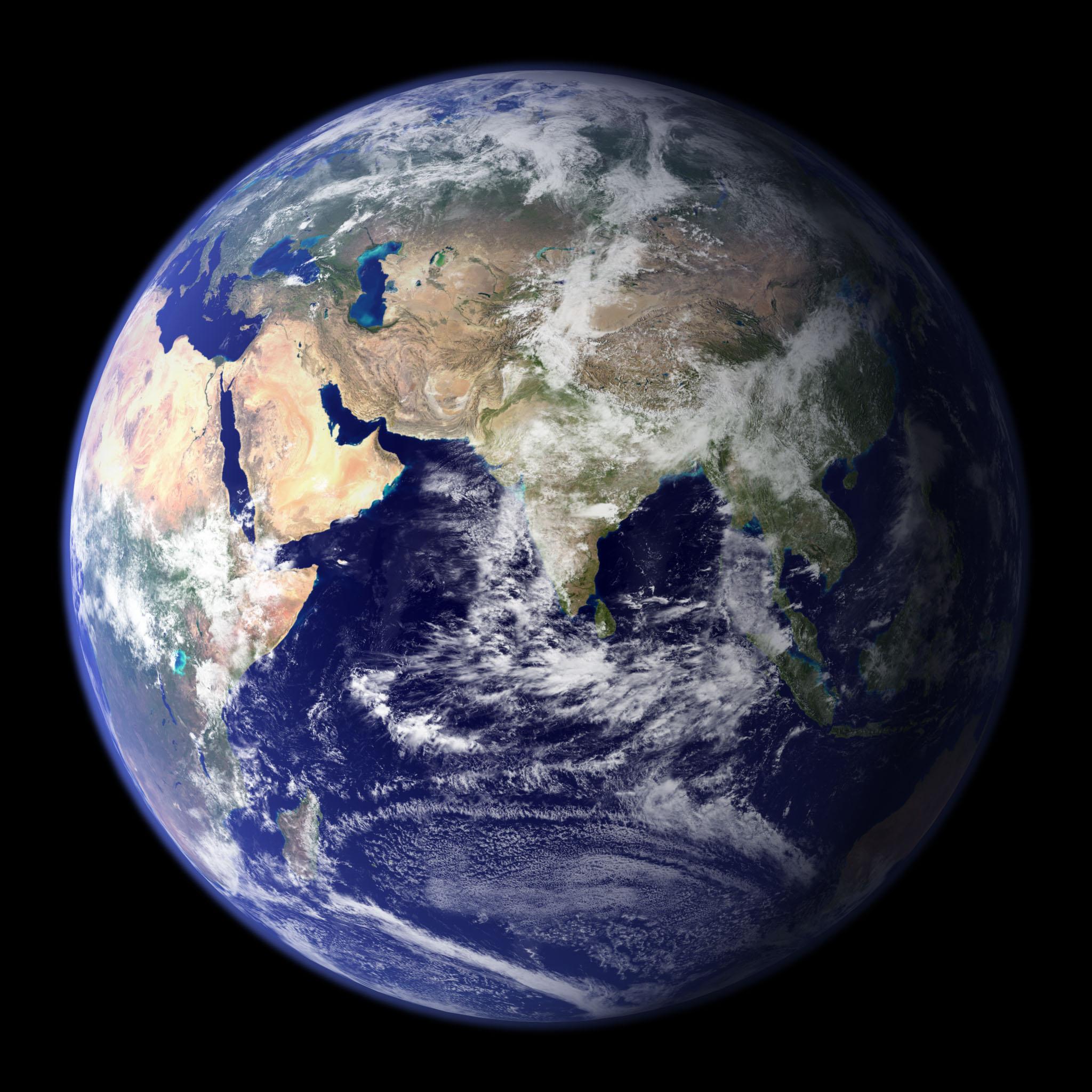 blue planet NASA